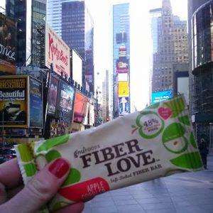 The best apple fiber bar! The big Apple Cobbler.