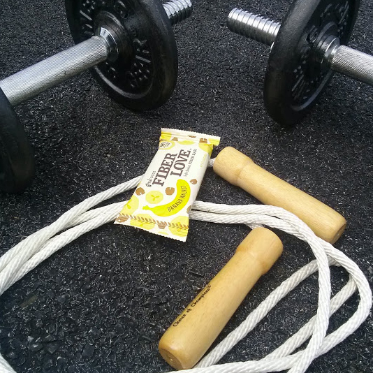 FiberLove workout snack.
