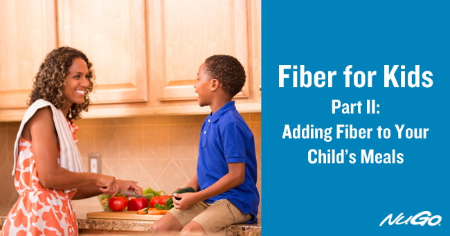 A registered dietitian gives tips on how to get kids to eat fiber.